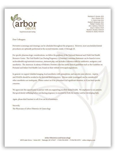arbor-dental-letter